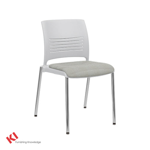 KI Strive Four Leg Stacking Chair