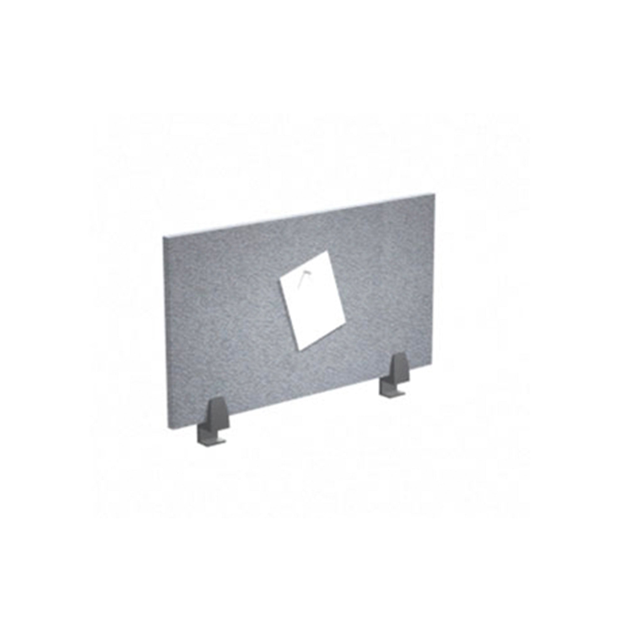 Tackboard Desk Mounted Privacy Panel