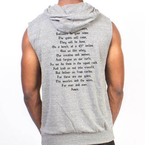 Swoly Prayer Sleeveless Hoodie [Limited Edition]