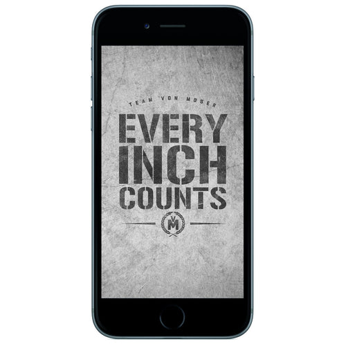 Every Inch Counts Wallpaper