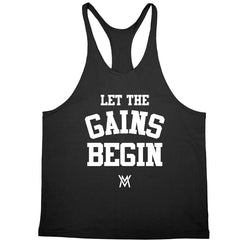 Let the Gains Begin Stringer
