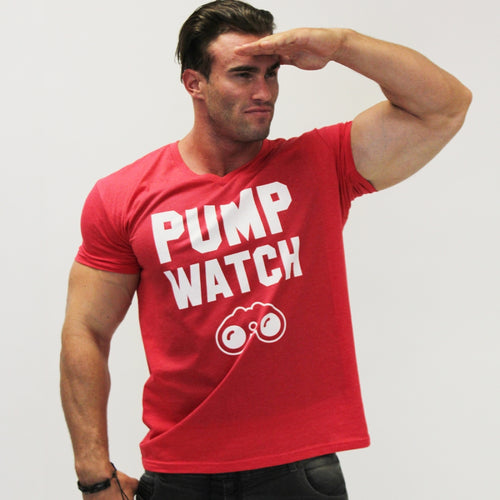 Pump Watch Tee - Red