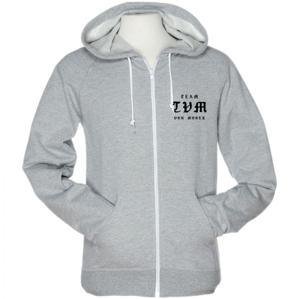 The Prayer Contrast Zip Hoodie