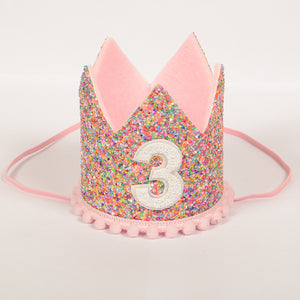 Birthday Crown | Candy Pink | 3