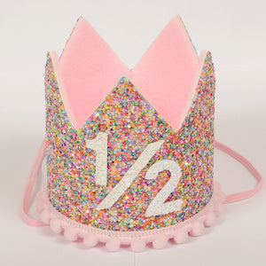 Birthday Crown | Candy Pink | 1/2