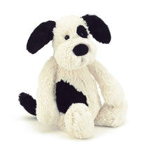 Load image into Gallery viewer, Bashful Black & Cream Puppy | Medium