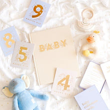Load image into Gallery viewer, Baby Milestone Cards | Powder Blue
