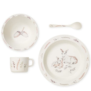 Bamboo Dinnerware Set | Forest Theme