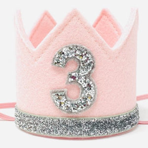 Pink & Silver Birthday Hat
