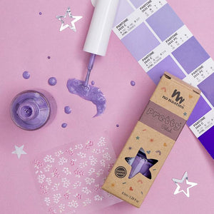 Water-Based Peelable Nail Polish | Purple