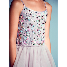 Load image into Gallery viewer, Popping Candy Tutu Dress- Elderberry