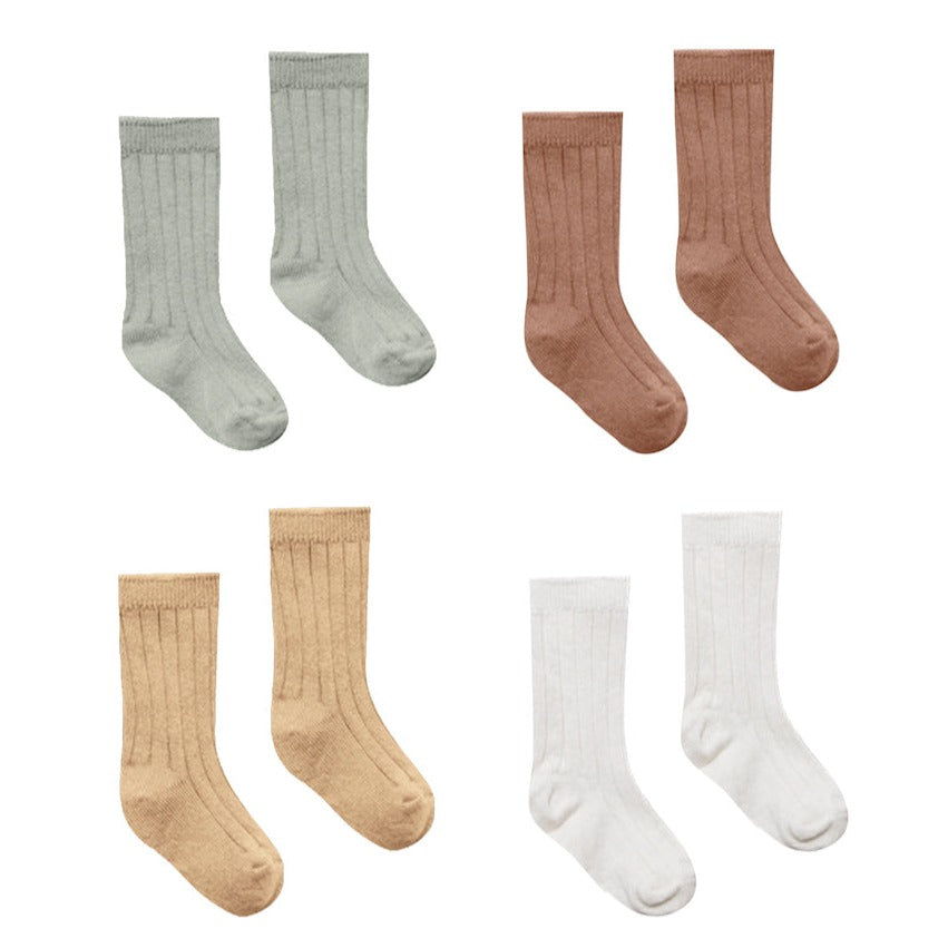 Baby Socks | Sage,Clay,Honey,Ivory