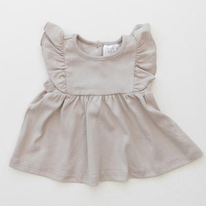 Cotton Ruffle Dress | Ash