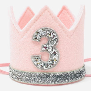 Birthday Crown | Pink & Silver | 3