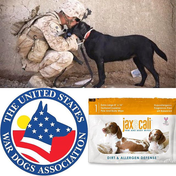 Support Military and Police Dogs