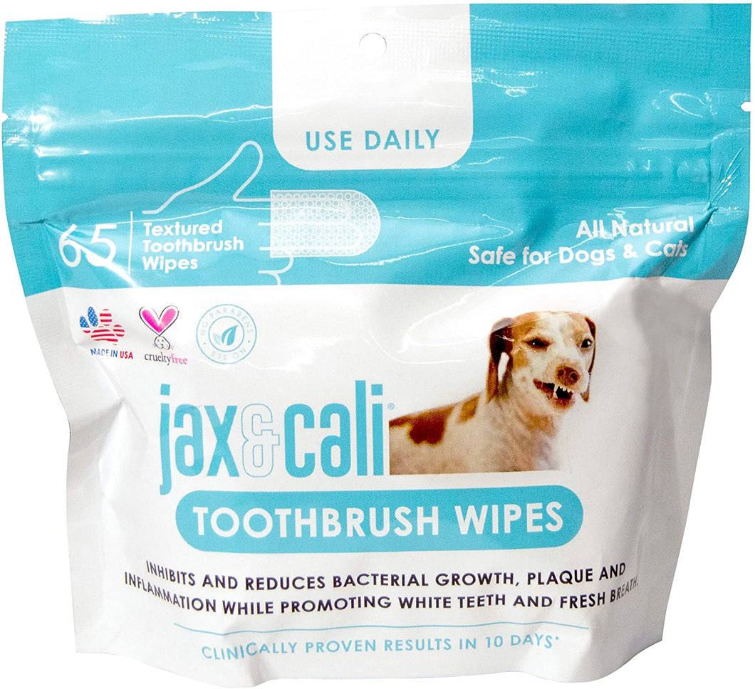 Jax & Cali® Toothbrush Wipes