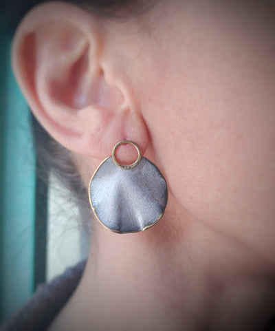 silver touch earrings