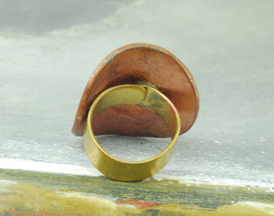 linear coin ring