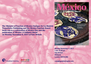 Mexico: A Culinary Quest<br /> launch at Tate Britain