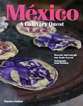 Mexico: A Culinary Quest book cover