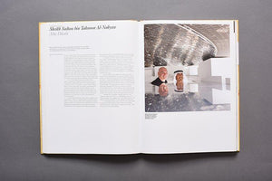 Art & Patronage book profile of the Louvre Abu Dhabi with Jean Nouvel and HE Sheikh Sultan