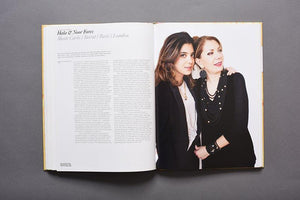 Art & Patronage book profile of Hala and Noor Fares