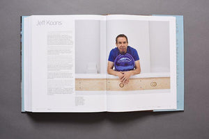 Art Studio America book profile of Jeff Koons