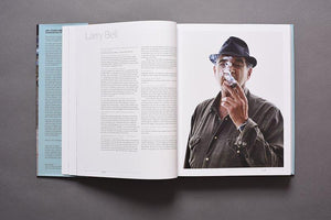 Art Studio America book profile of Larry Bell