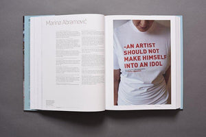Art Studio America book profile of Marina Abramovic