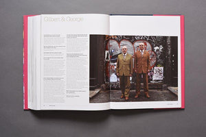Sanctuary book profile of Gilbert & George
