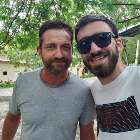 Gerard Butler and Mary's Meals in Haiti
