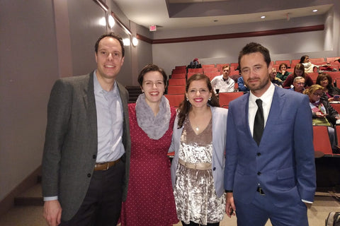 Directors and producers of Where There is Darkness attending a screening of the film in Washington, DC