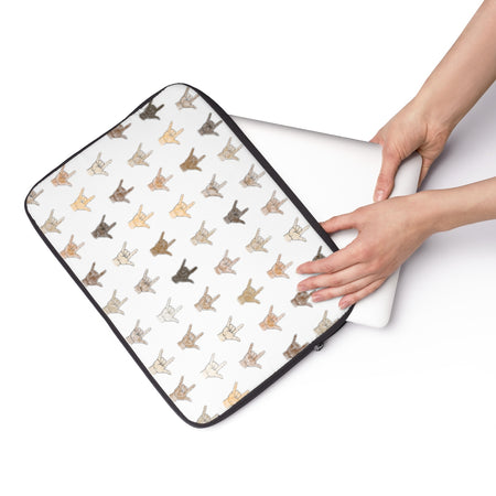 Tiny Hands Laptop Sleeve