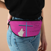 Blue Cross Fanny Pack