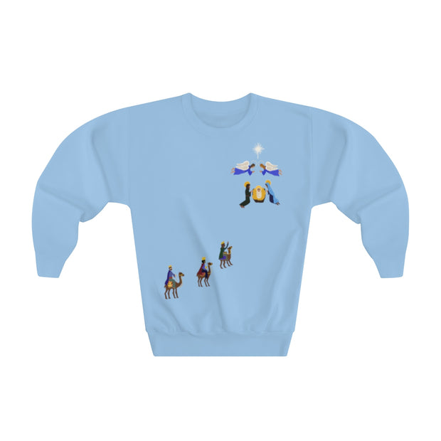 Journey to Baby Jesus - Youth sweatshirt