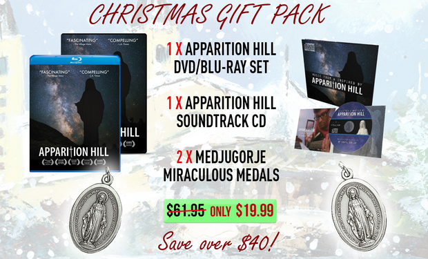 Medjugorje Movie+Music+Medal Gift Pack