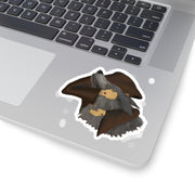 Brother Wolf Embrace Kiss-Cut Stickers