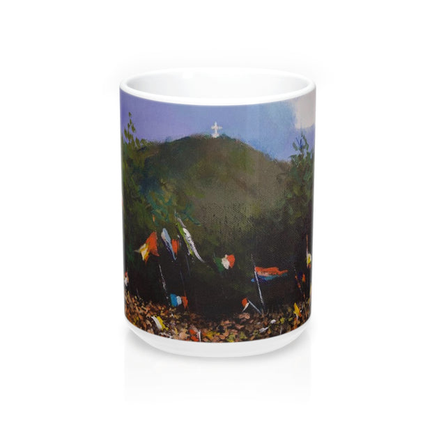 Cross Mountain 15 oz Mug