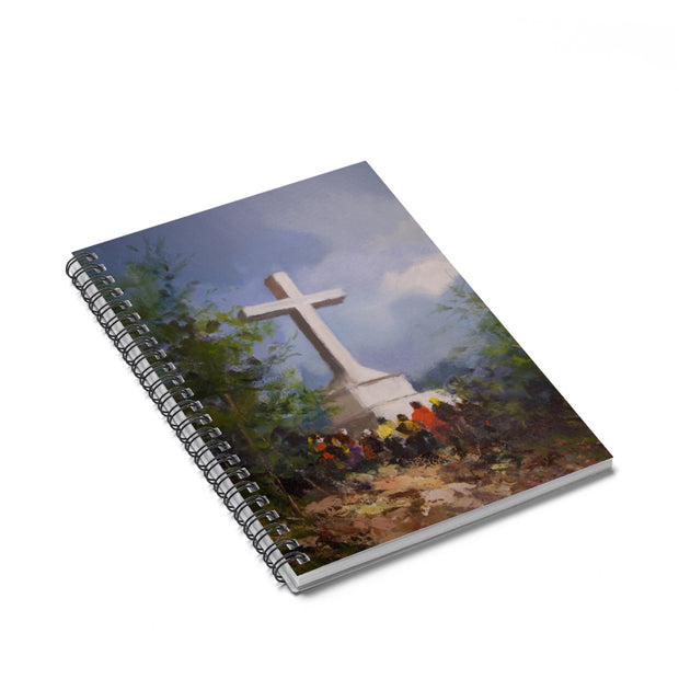 Cross Mountain Spiral Notebook - Ruled Line