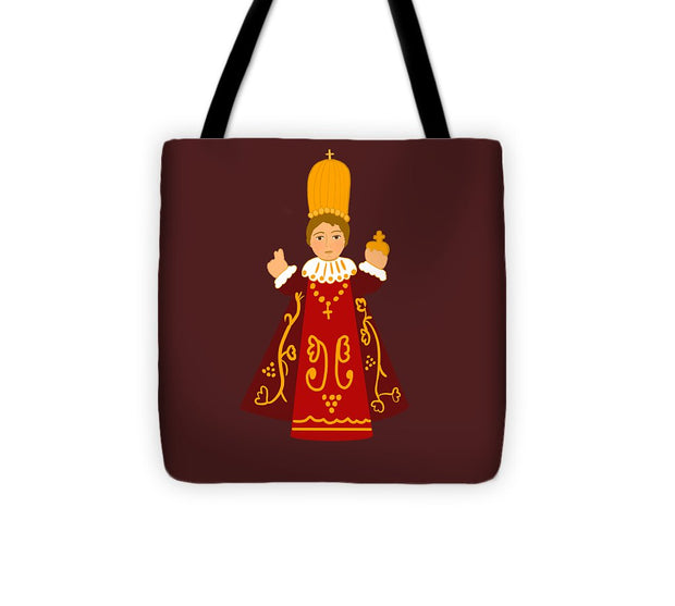 Infant Of Prague - Tote Bag