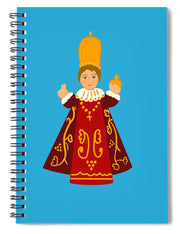 Infant Of Prague - Spiral Notebook