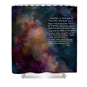 Memorare  - Shower Curtain