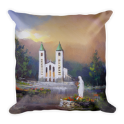Medjugorje Seasons Pillow