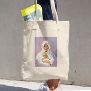 Virgin with Child Tote Bag