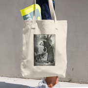 Where There Is Darkness Tote Bag