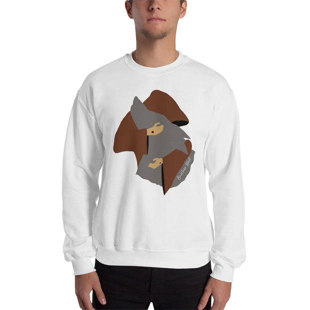 Brother Wolf Hug Sweatshirt