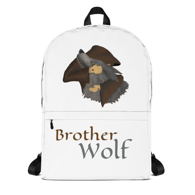 Brother Wolf Backpack by Stella Mar