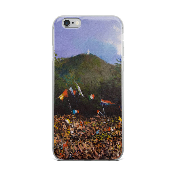 Cross Mountain Youth Festival iPhone Case