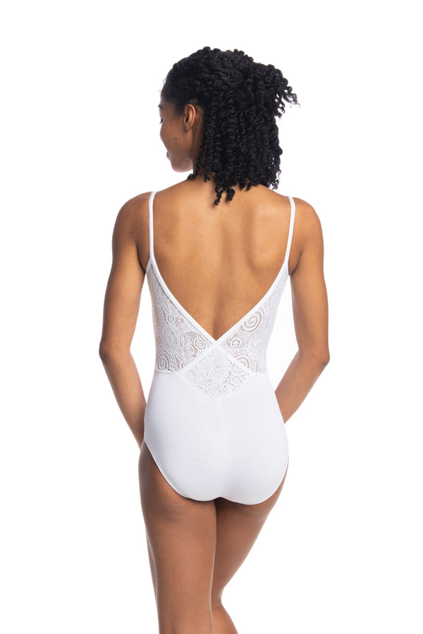 Allegra Leotard with Lola Lace (136LL)