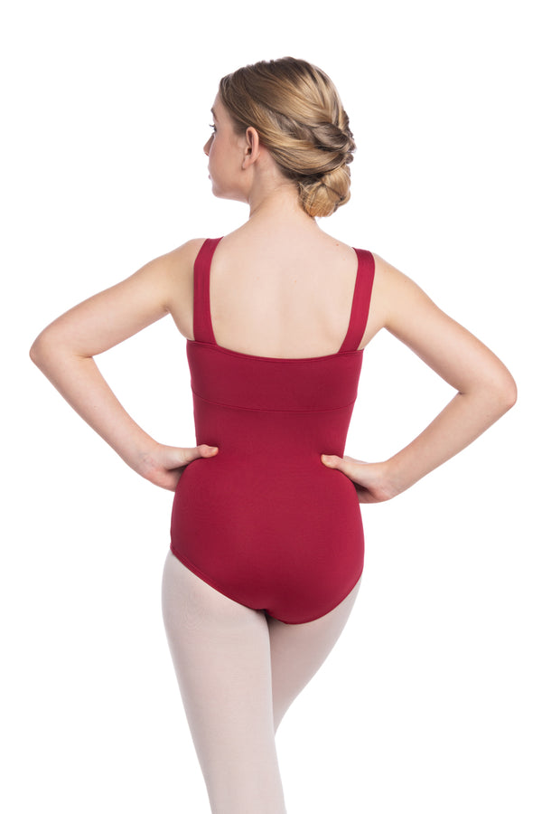 Girls Square Neck Leotard (102 G)